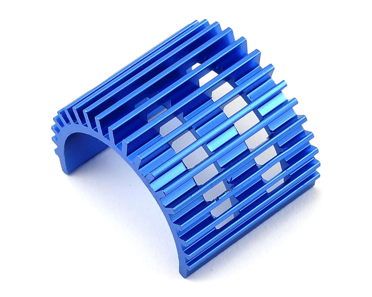1/18 Aluminum Motor Heatsink (Blue) by Dromida Short Course