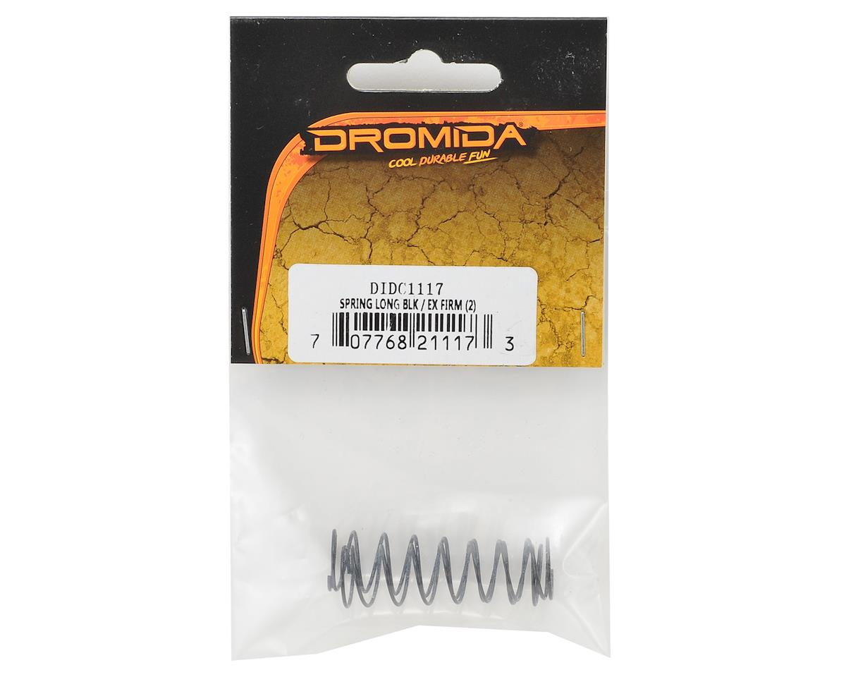 Dromida 42mm Shock Spring (Black) (2) (Extra Hard)