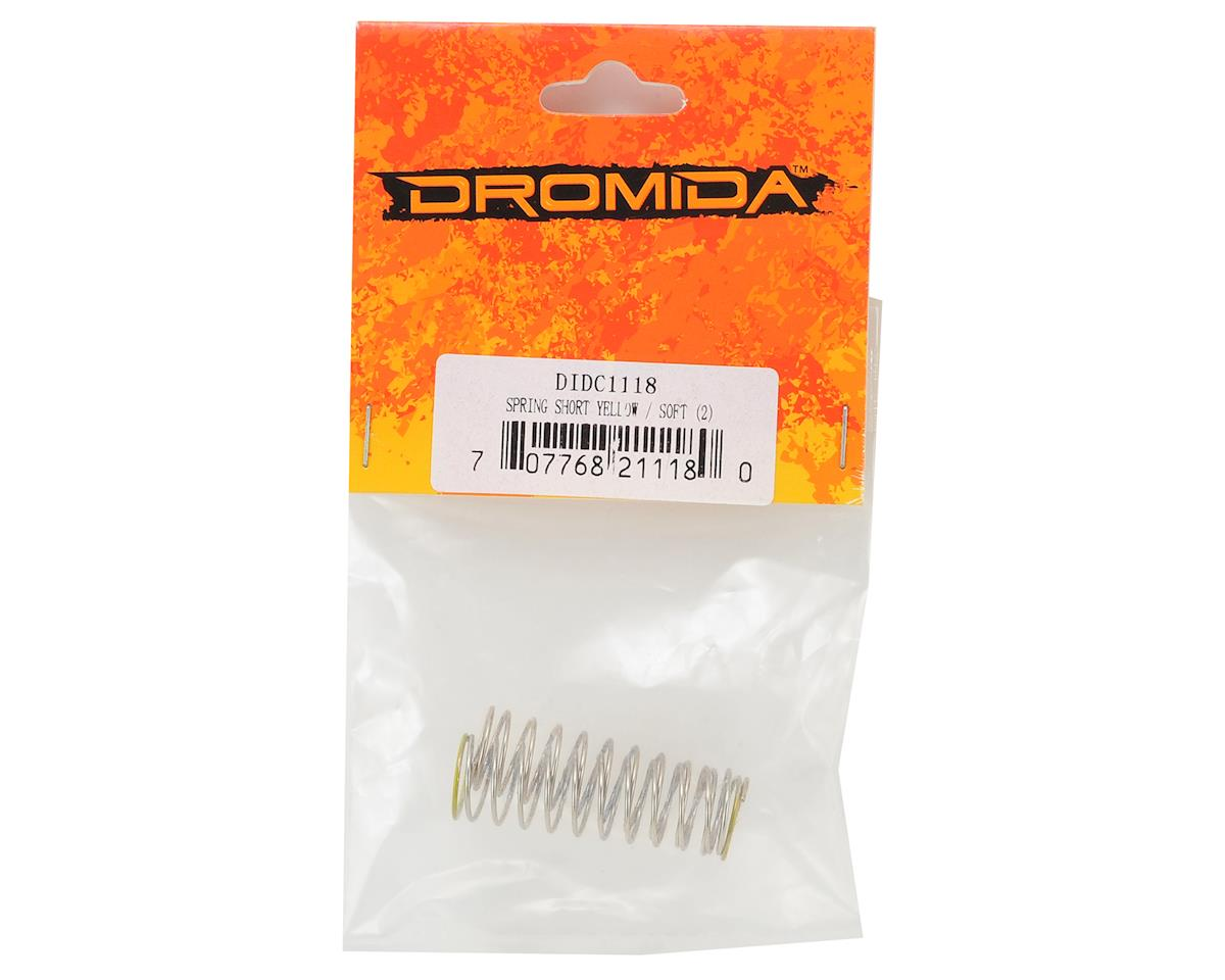 Dromida 38mm Shock Springs (Yellow) (2) (Soft)