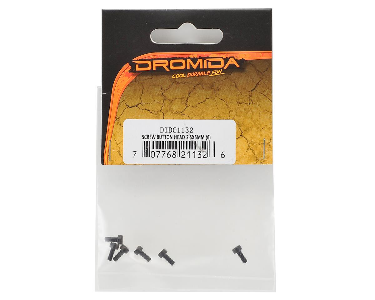Dromida 2.5x6mm Button Head Hex Screw (6)