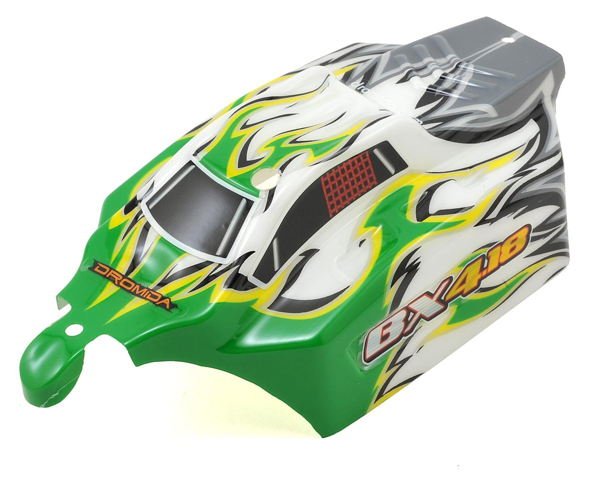Dromida BX Buggy Pre-Painted Body (Green/White)