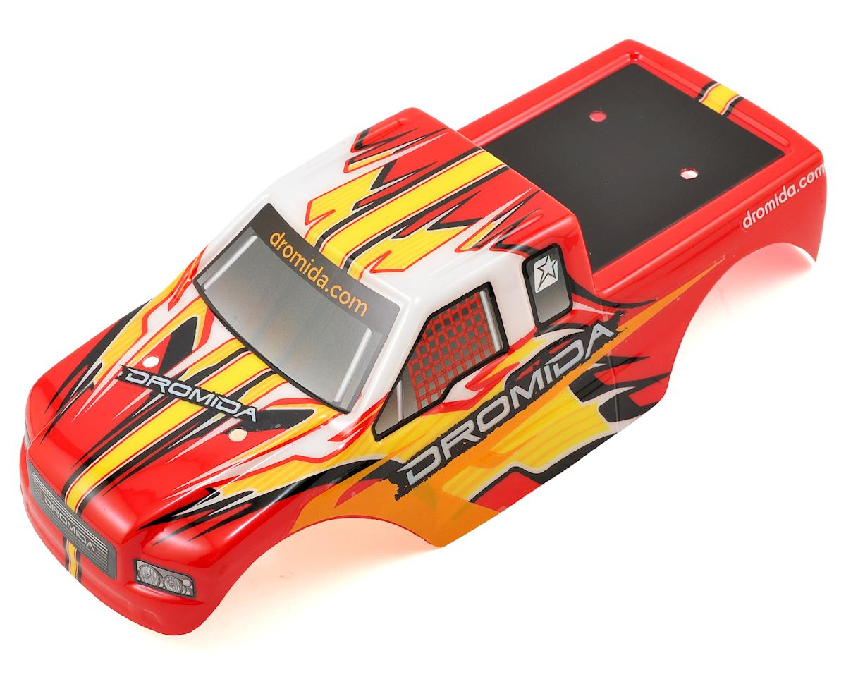 Dromida Monster Truck Body (Red/Yellow)