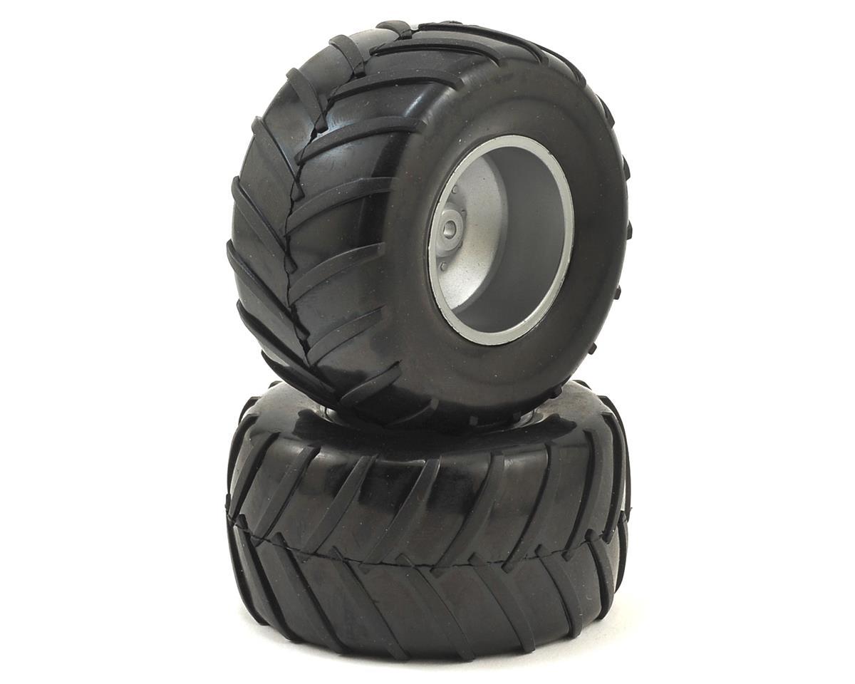 Dromida Pre-Mounted 1/18 Monster Truck Tires (2)