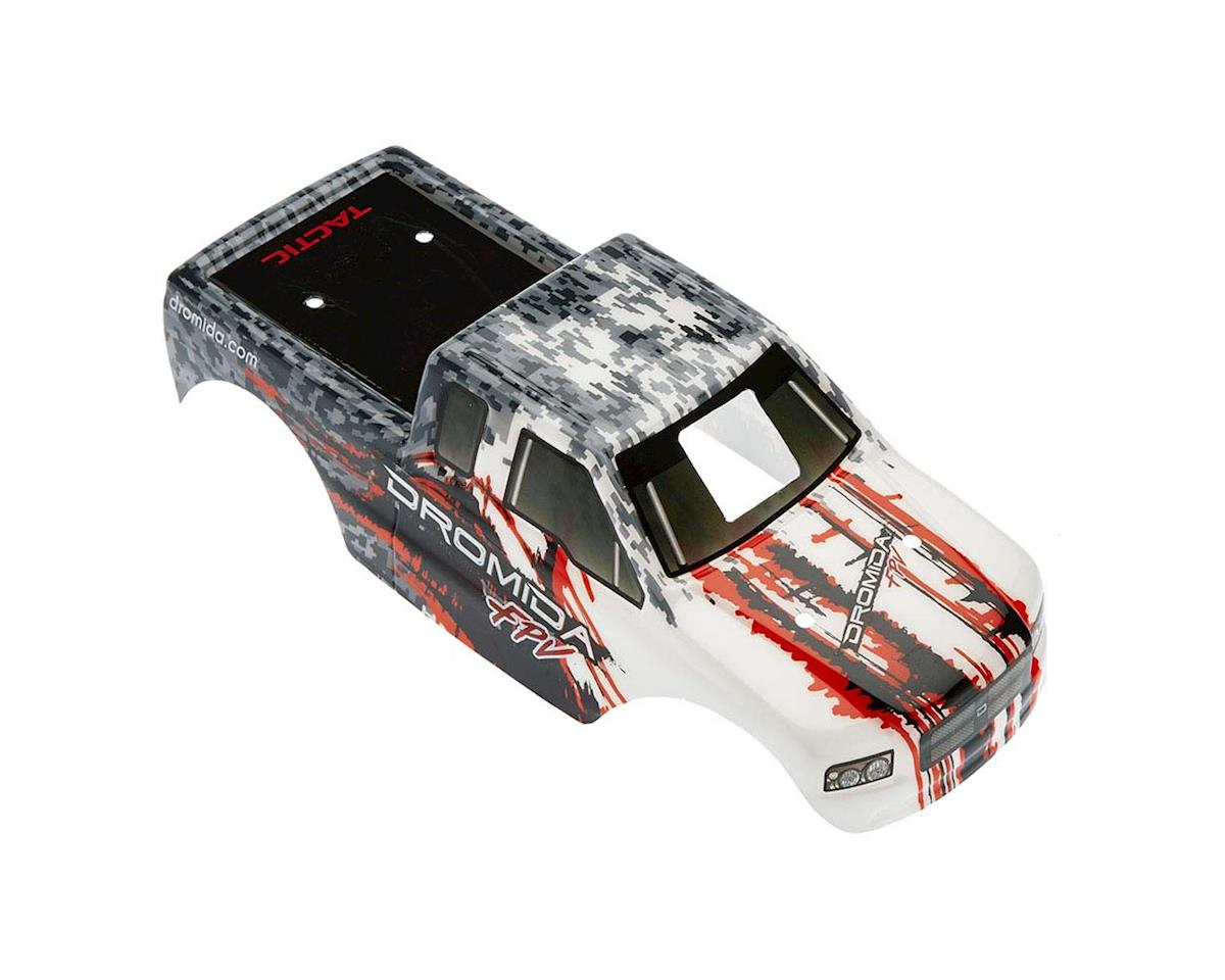 Dromida Misc. Parts DIDC1205 Body Printed w/Decals Gray/Red Monster Truck
