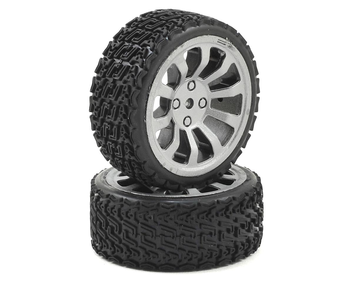 Dromida 1/18 Rally Wheel/Tire Assembly (2)