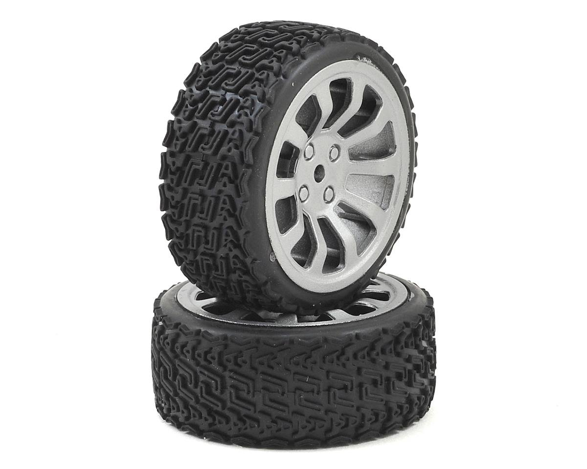 Dromida Touring Car Pre-Mounted 1/18 Rally Tire (2)