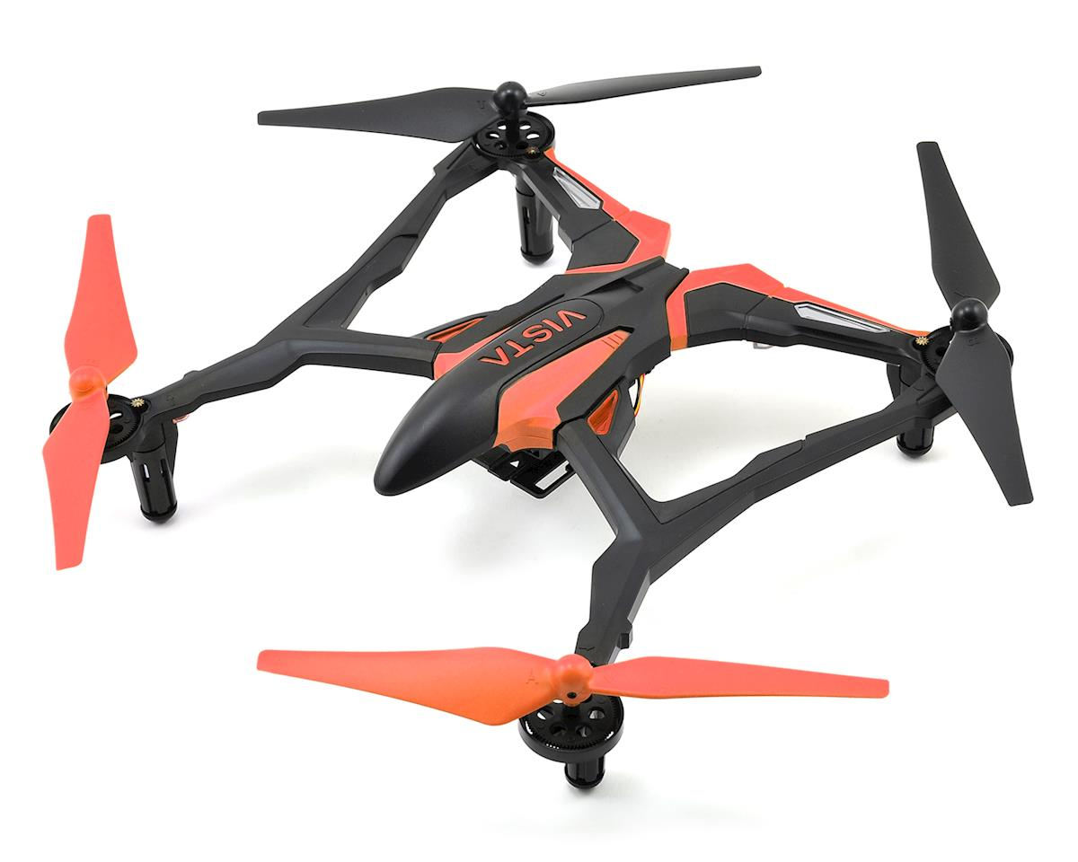 SCRATCH & DENT: Dromida Vista FPV RTF Micro Electric Quadcopter Drone (Orange)