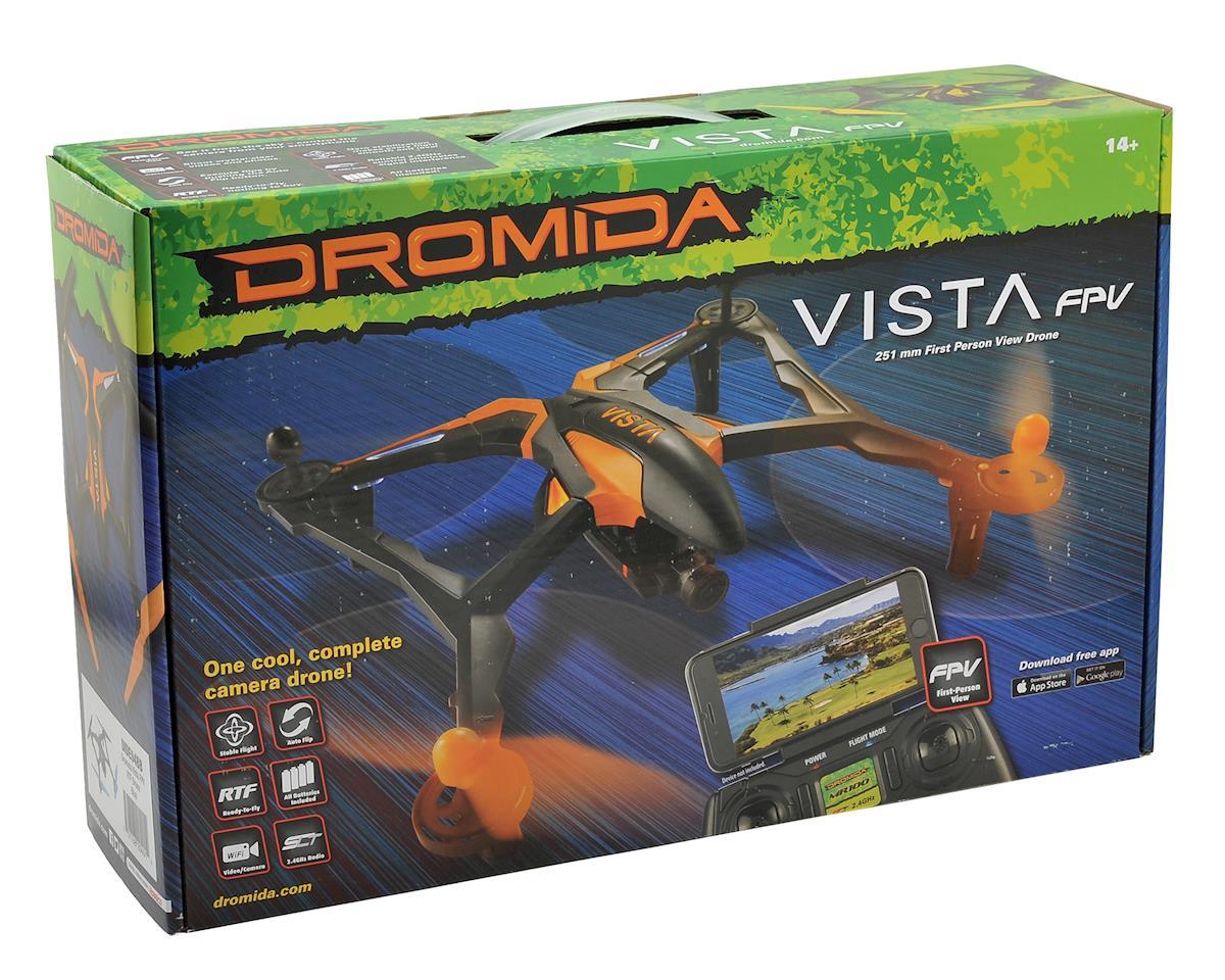 Dromida Vista FPV RTF Micro Electric Quadcopter Drone (Orange)