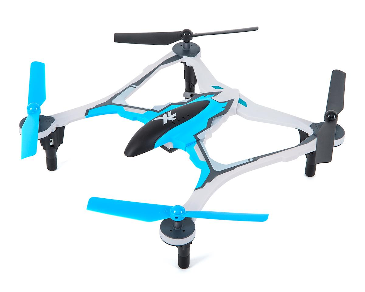 Dromida XL 370 RTF Micro Electric Quadcopter Drone (Blue)