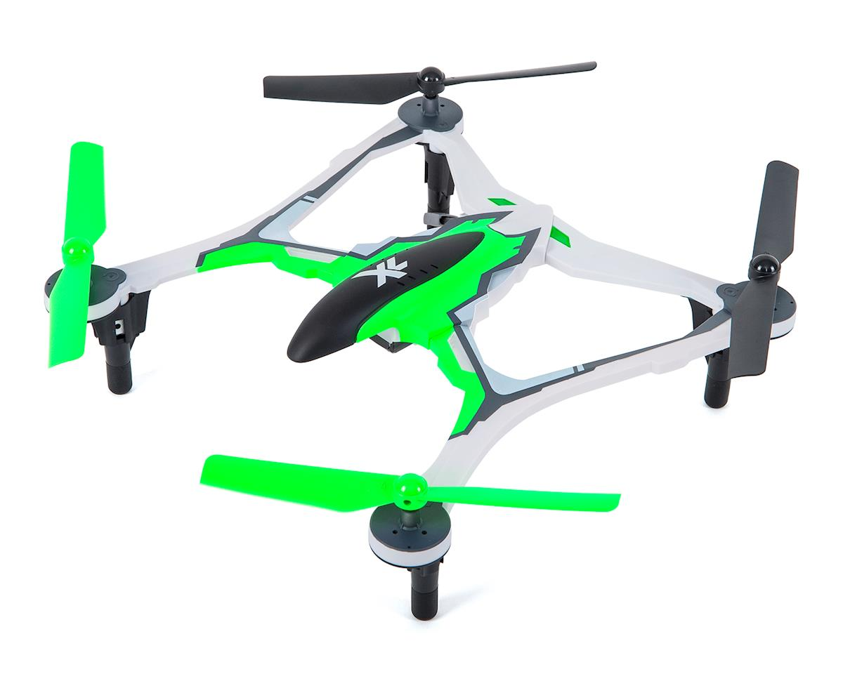 SCRATCH & DENT: Dromida XL 370 RTF Micro Electric Quadcopter Drone (Green)