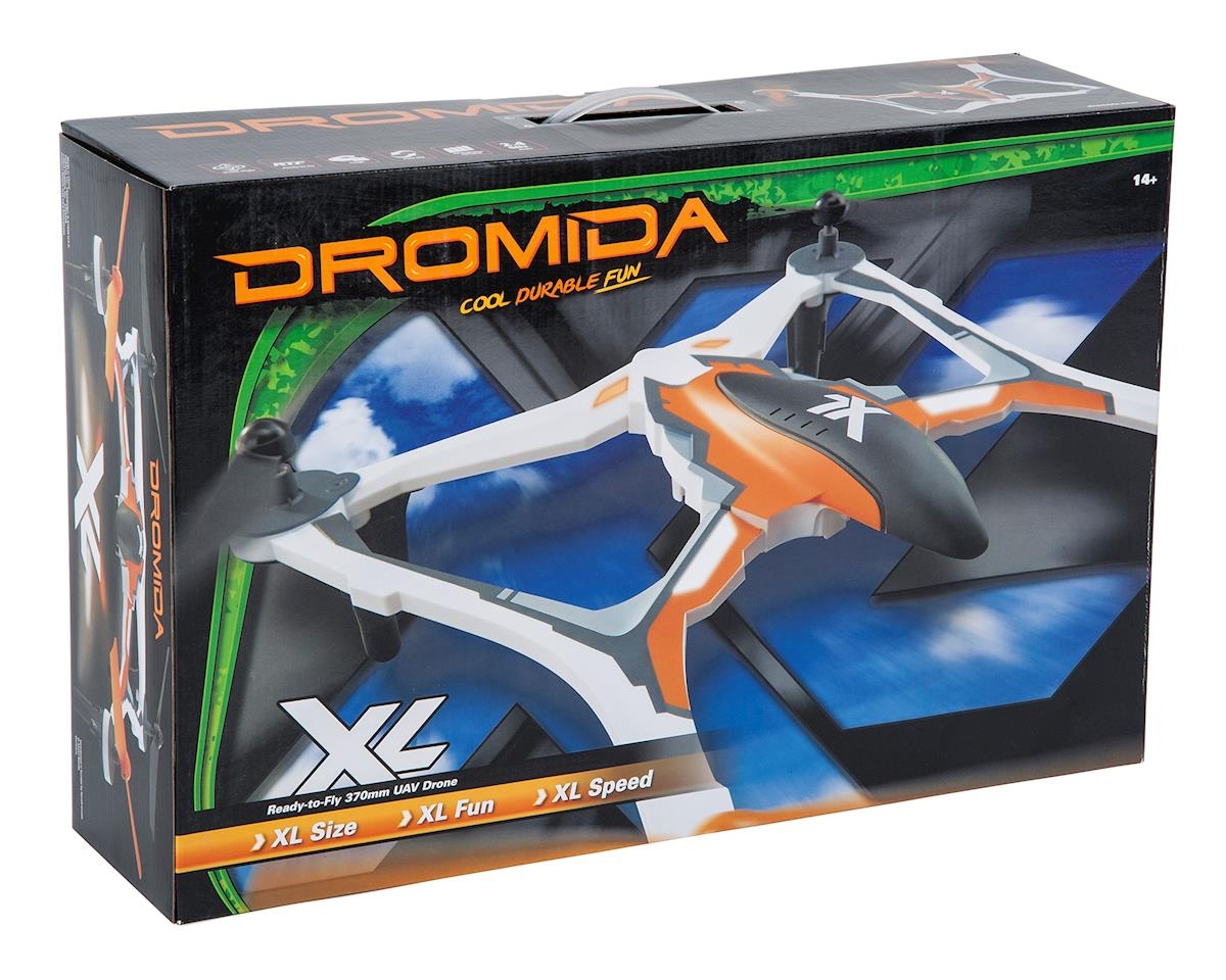 Dromida XL 370 RTF Micro Electric Quadcopter Drone (Orange)