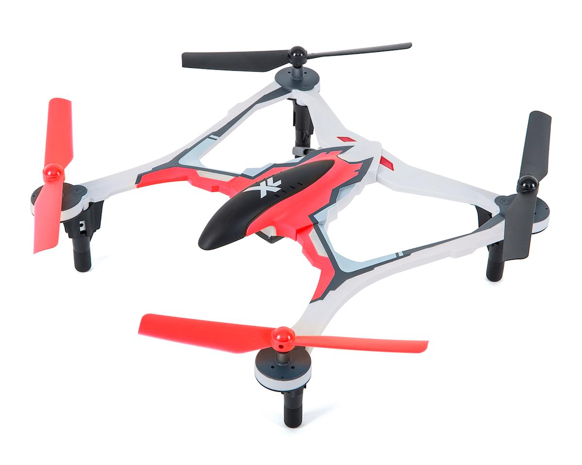 Dromida XL 370 RTF Micro Electric Quadcopter Drone (Red)