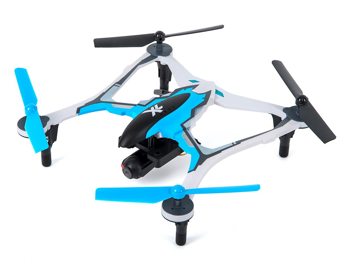 Dromida XL 370 FPV RTF Micro Electric Quadcopter Drone (Blue)