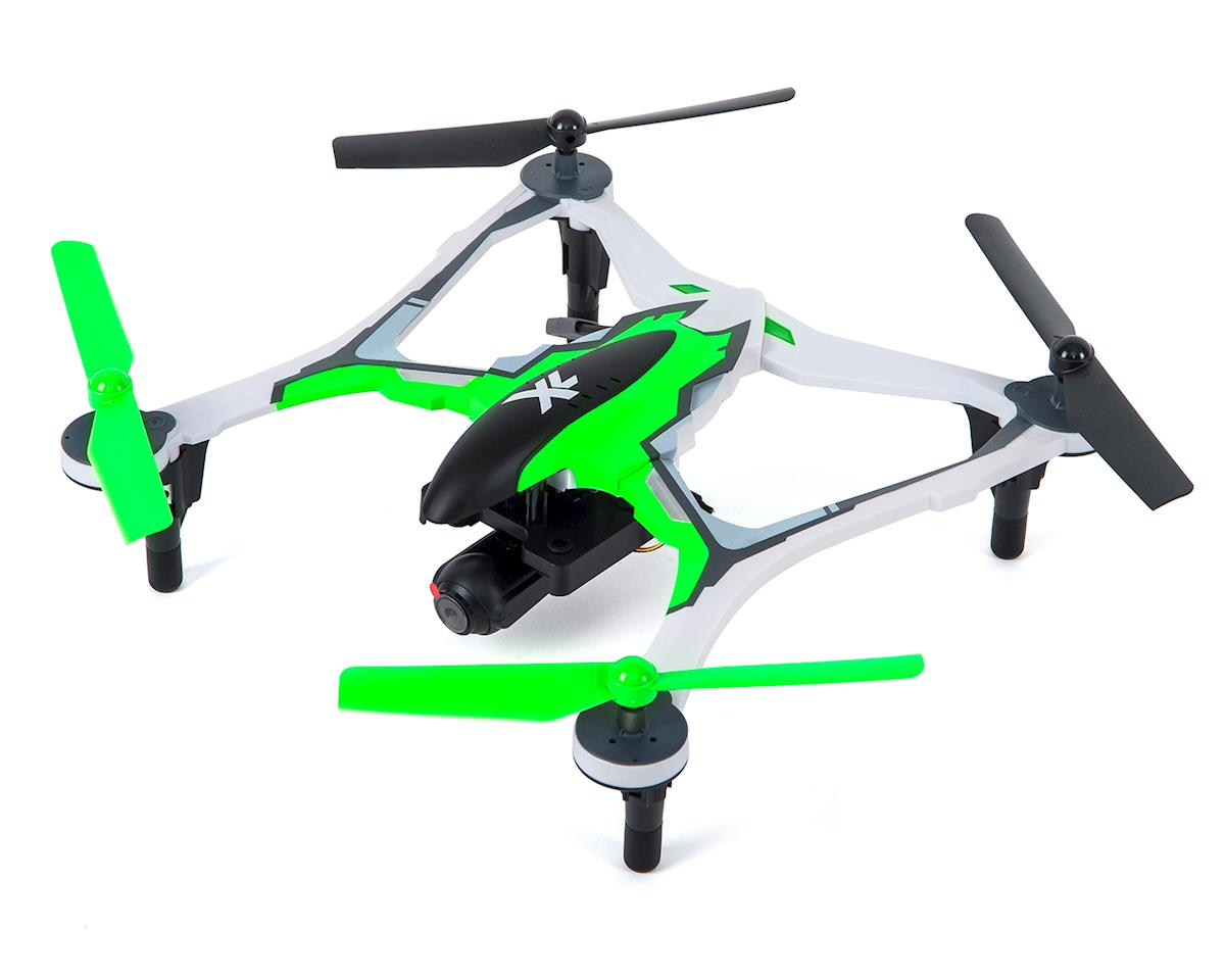 SCRATCH & DENT: Dromida XL 370 FPV RTF Micro Electric Quadcopter Drone (Green)