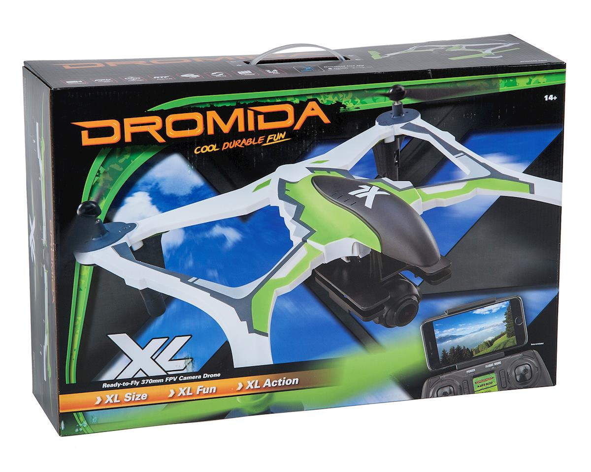 Dromida XL 370 FPV RTF Micro Electric Quadcopter Drone (Orange)