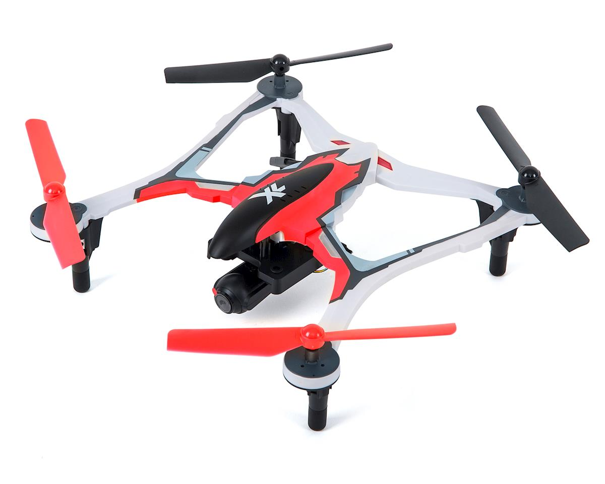 Dromida XL 370 FPV RTF Micro Electric Quadcopter Drone (Red)