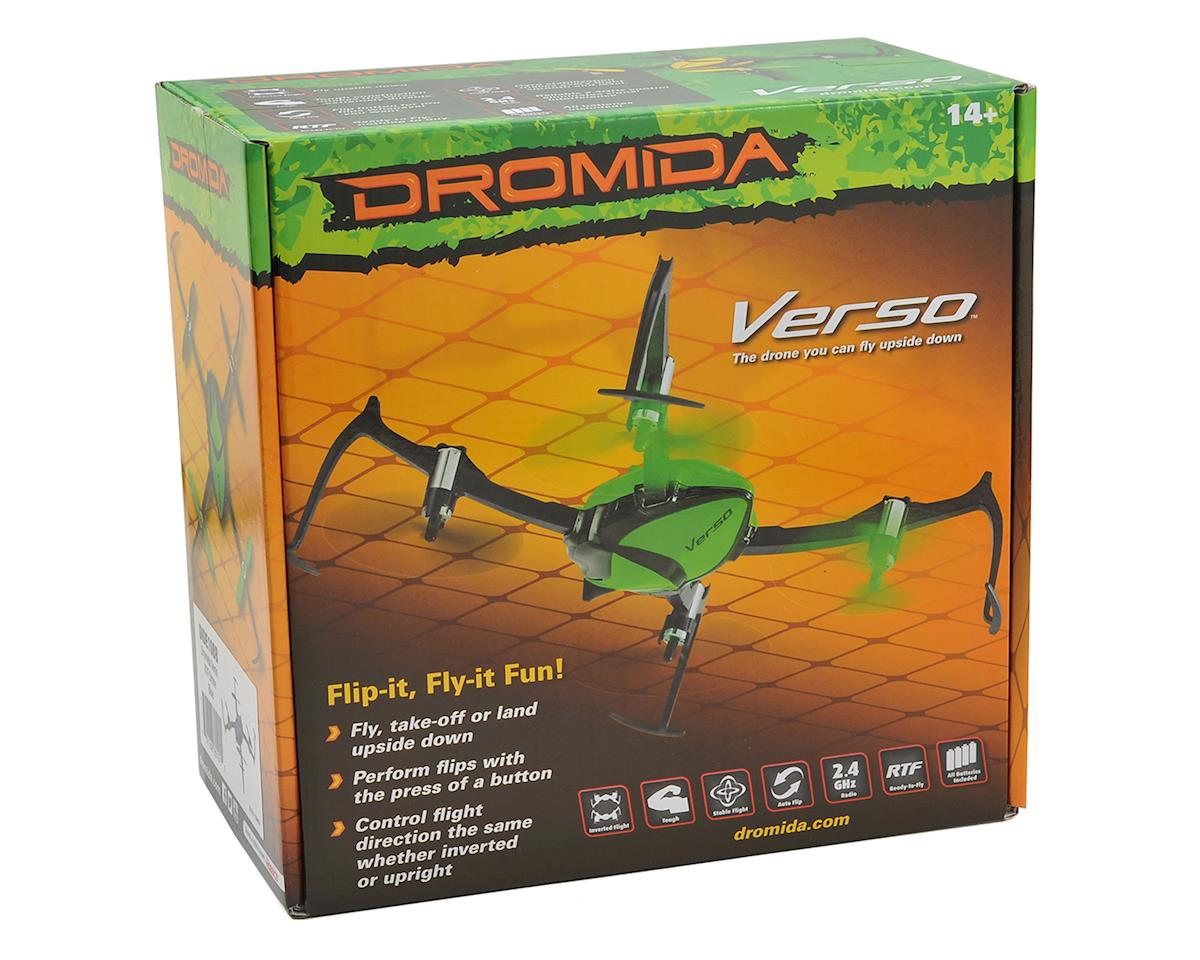 Dromida Verso Inversion RTF Micro Electric Quadcopter Drone (Red)