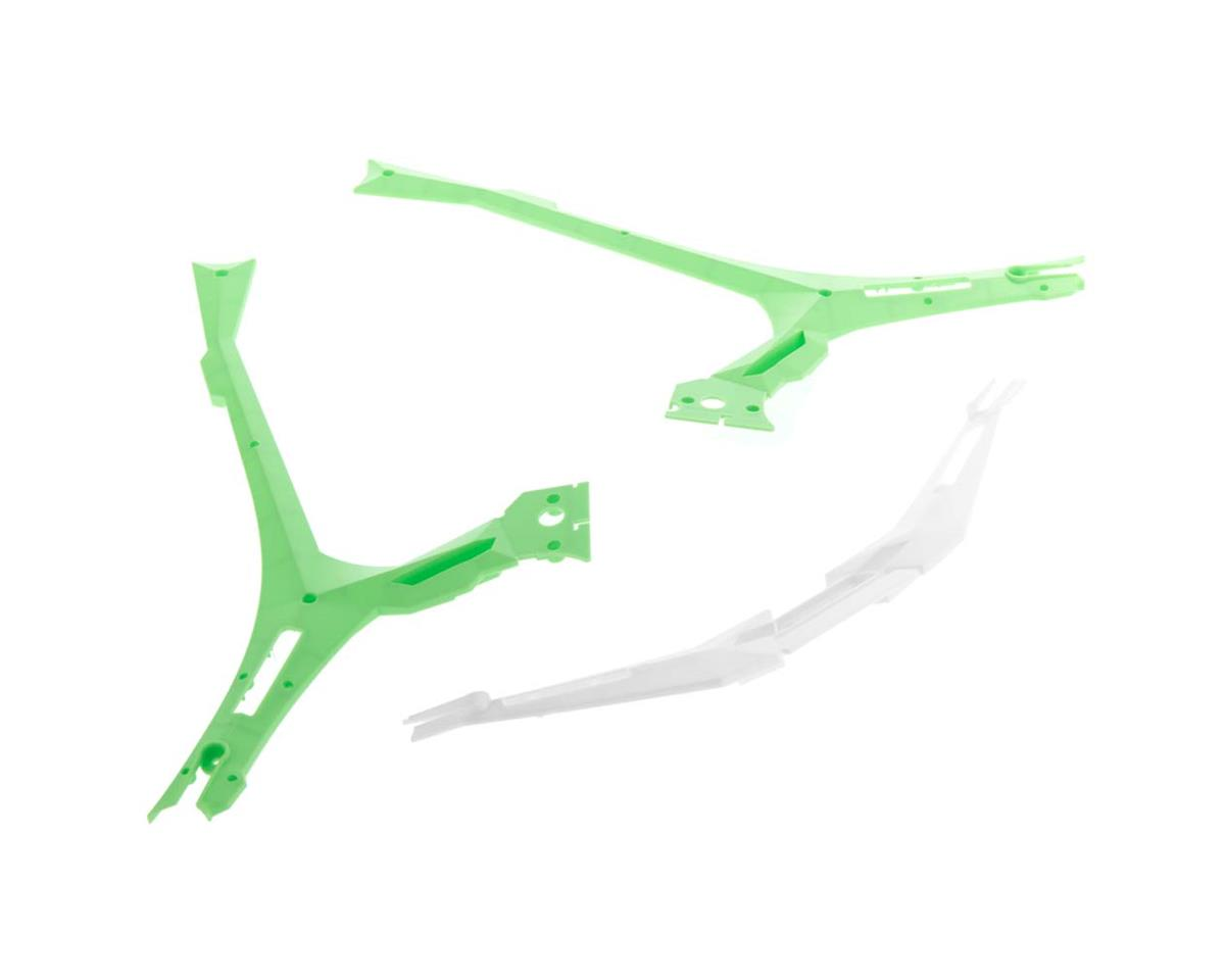 Dromida Frame Bottom Covers Green XL 370 V2