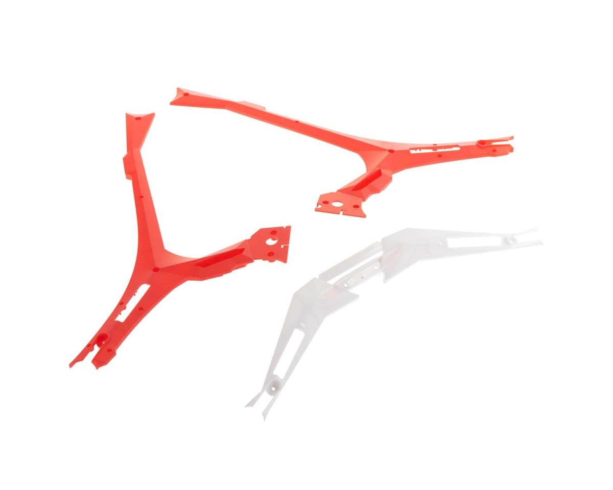 Dromida XL 370 Frame Bottom Covers Red V2