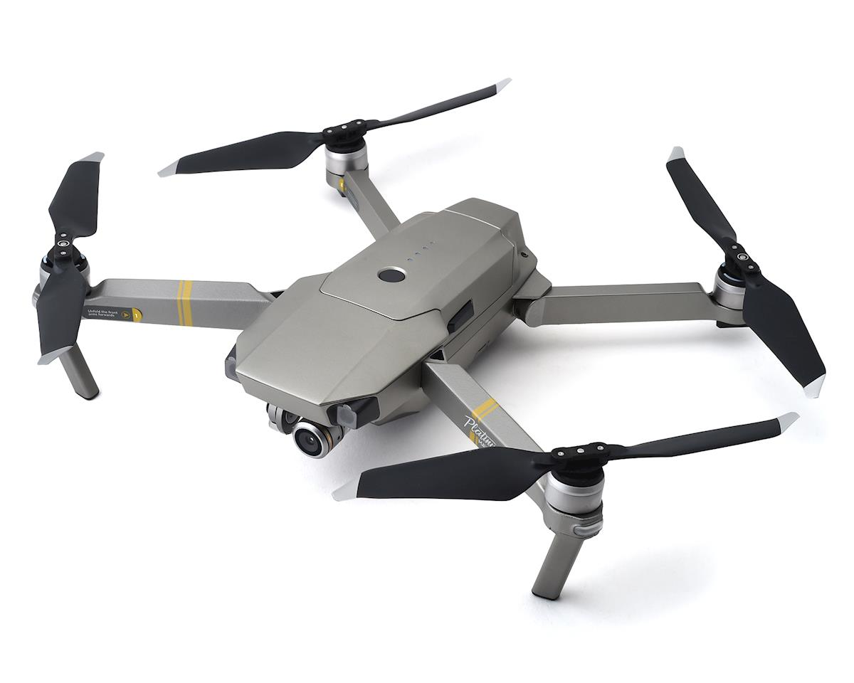 DJI Mavic Pro Platinum Quadcopter Drone w/Transmitter, Battery