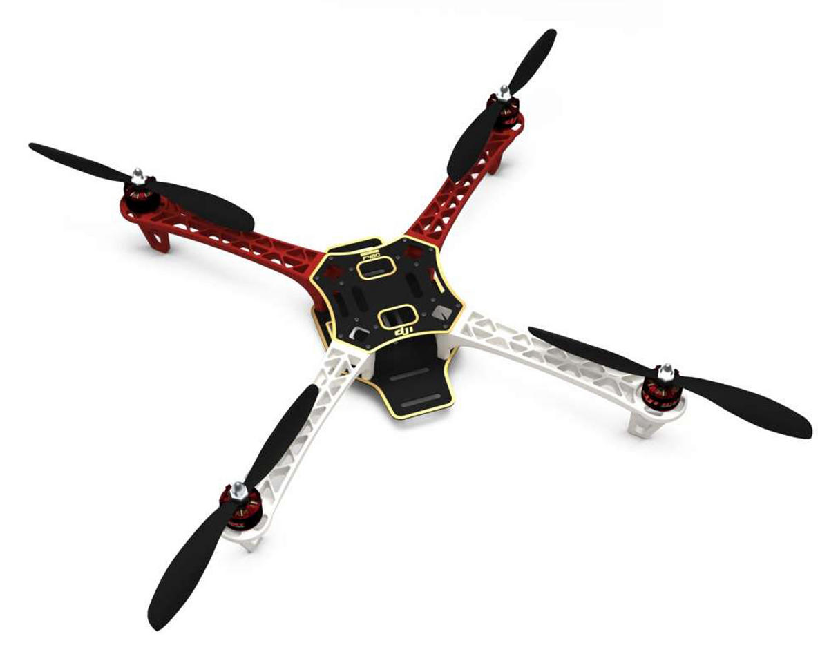 DJI Flame Wheel F450 Quadcopter Drone Combo Kit
