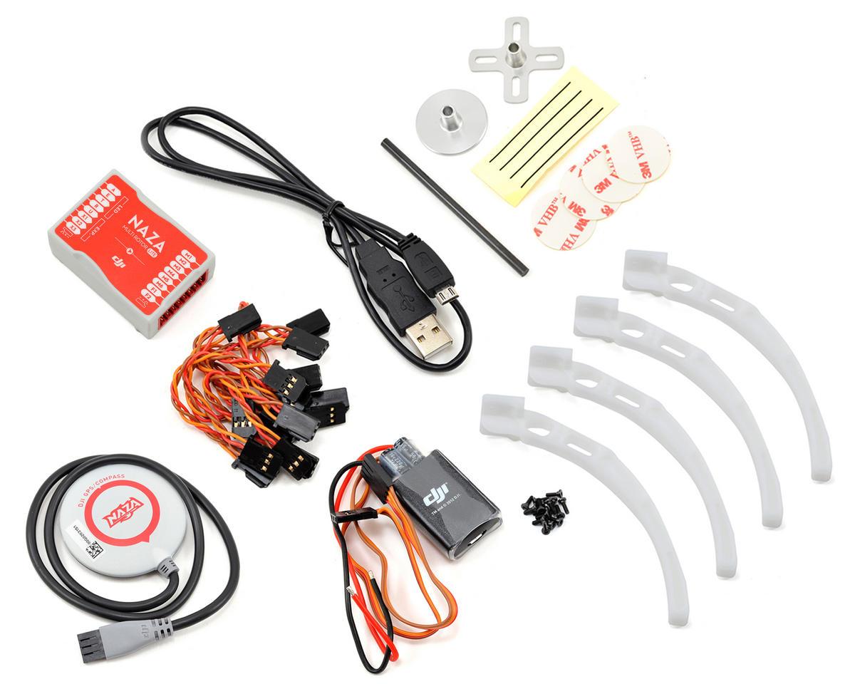 DJI Flame Wheel F450 ARF Quadcopter Drone Combo Kit w/Naza-M Lite GPS, E305  & Landing Skids