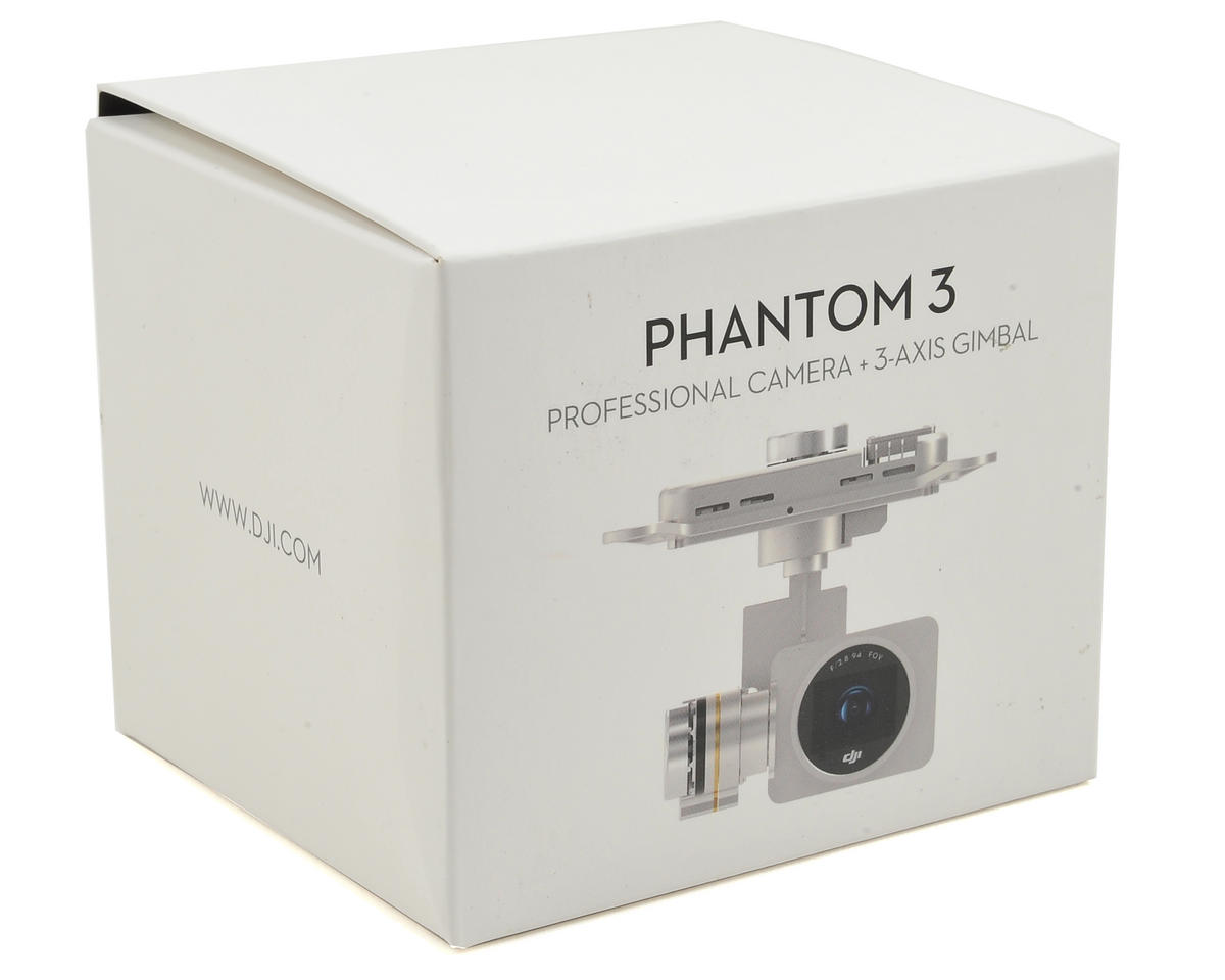 DJI Phantom 3 Professional 4K Camera w/Gimbal (Part 5)