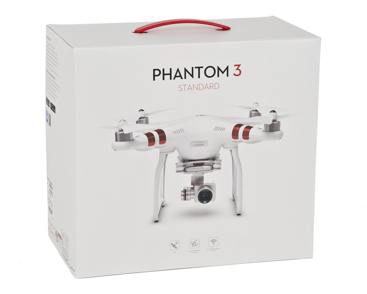 """DJI Phantom 3 """"Standard"""" Quadcopter Drone"""