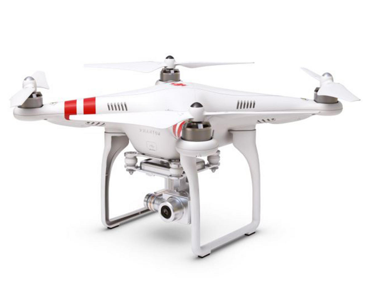 DJI Phantom 2 Vision+ V3.0 Quadcopter w/HD Camera, 3 Axis Gimbal & Extra Battery