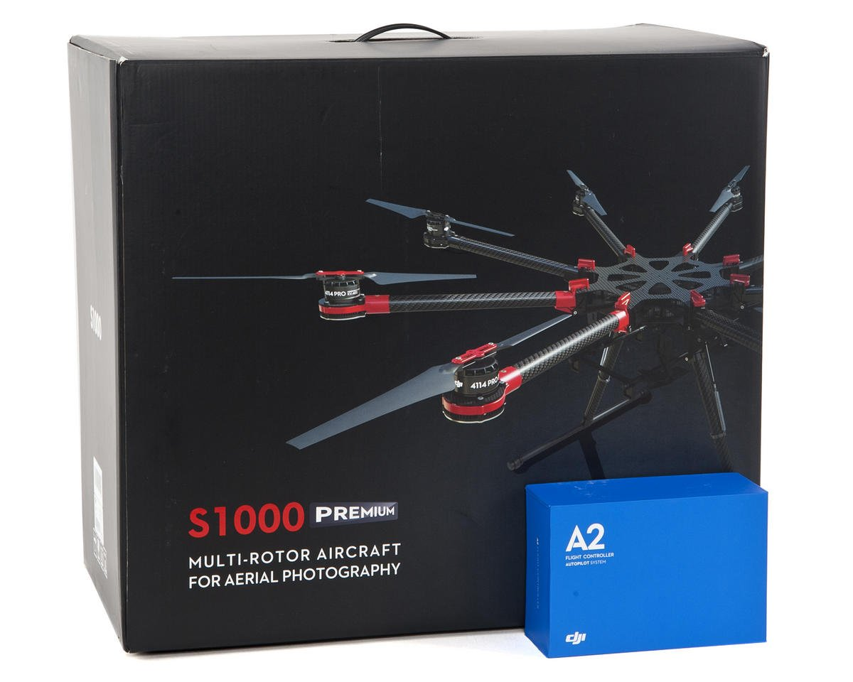 DJI S1000 Premium Professional AP Octocopter Drone Combo