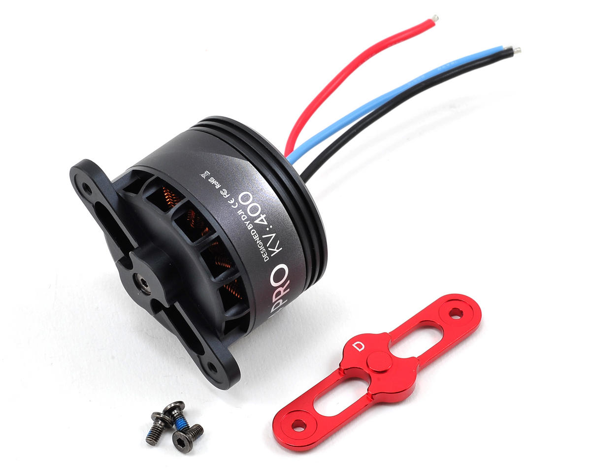 DJI S900 4114 Pro Motor w/Propeller Cover (Red) (Part 22)
