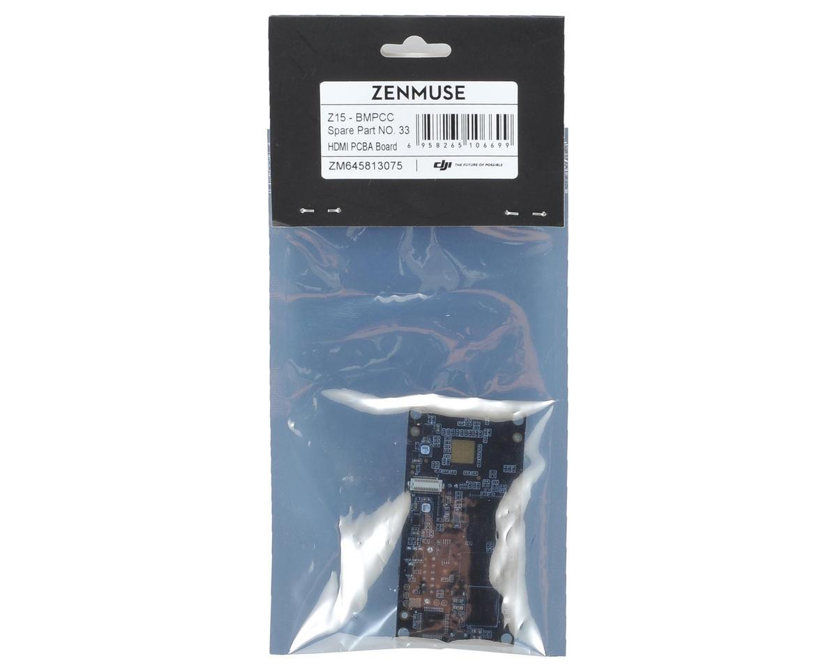 DJI Zenmuse Z15-BMPCC HDMI PCBA Board (Part 33)