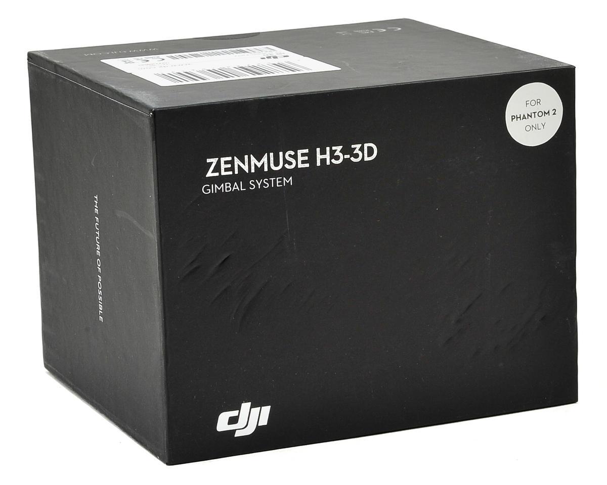 dji zenmuse h3 3d camera gimbal system phantom 2 gopro hero 3 dji zmh3