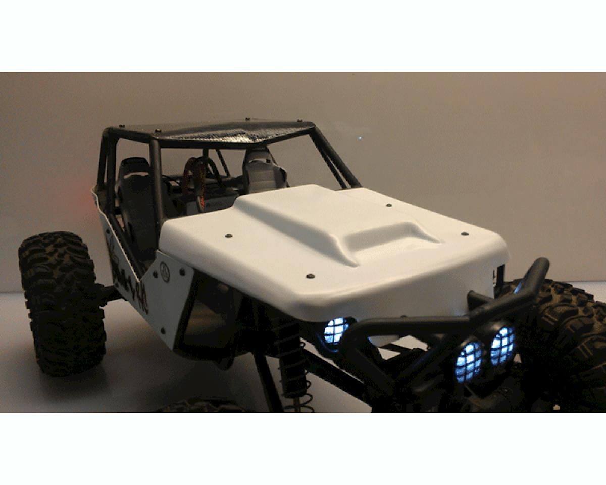 "Dinky RC Wraith ""Scoops V3"" Hood (Black)"