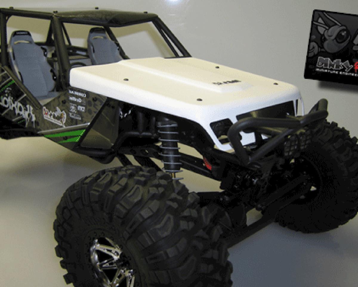 "Dinky RC Wraith ""Flatty V1"" Hood (White)"