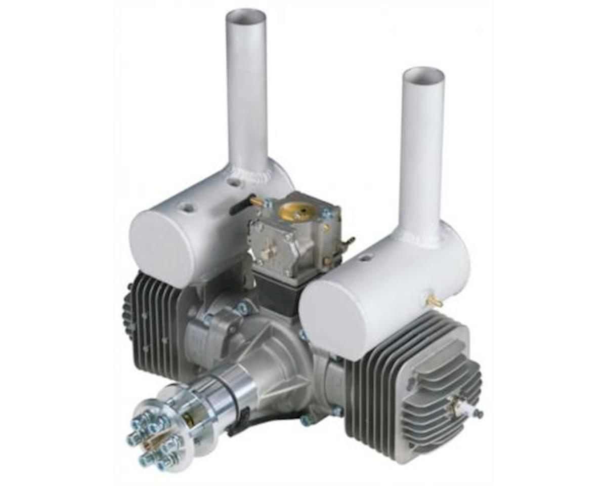 DLE Engines cc Twin w/EI/Mufflers/Mount