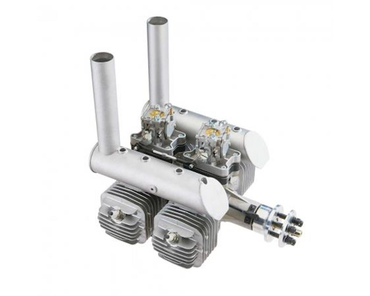 DLE Engines DLE-222cc 4-Cyl Gas Engine w/EI/Mufflers/Mount