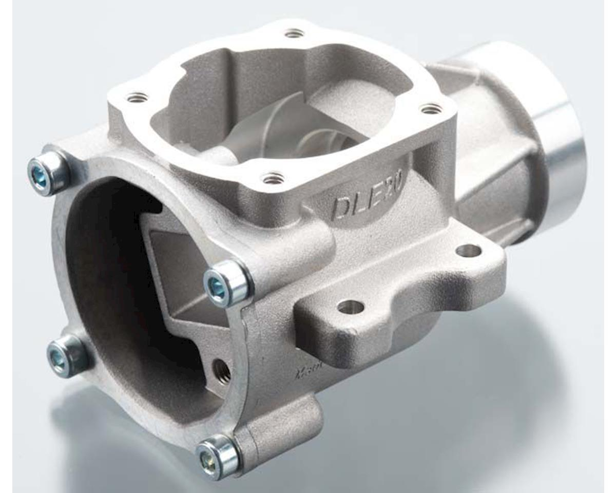 20-F5 Crankcase w/Back Plate DLE20 by DLE Engines