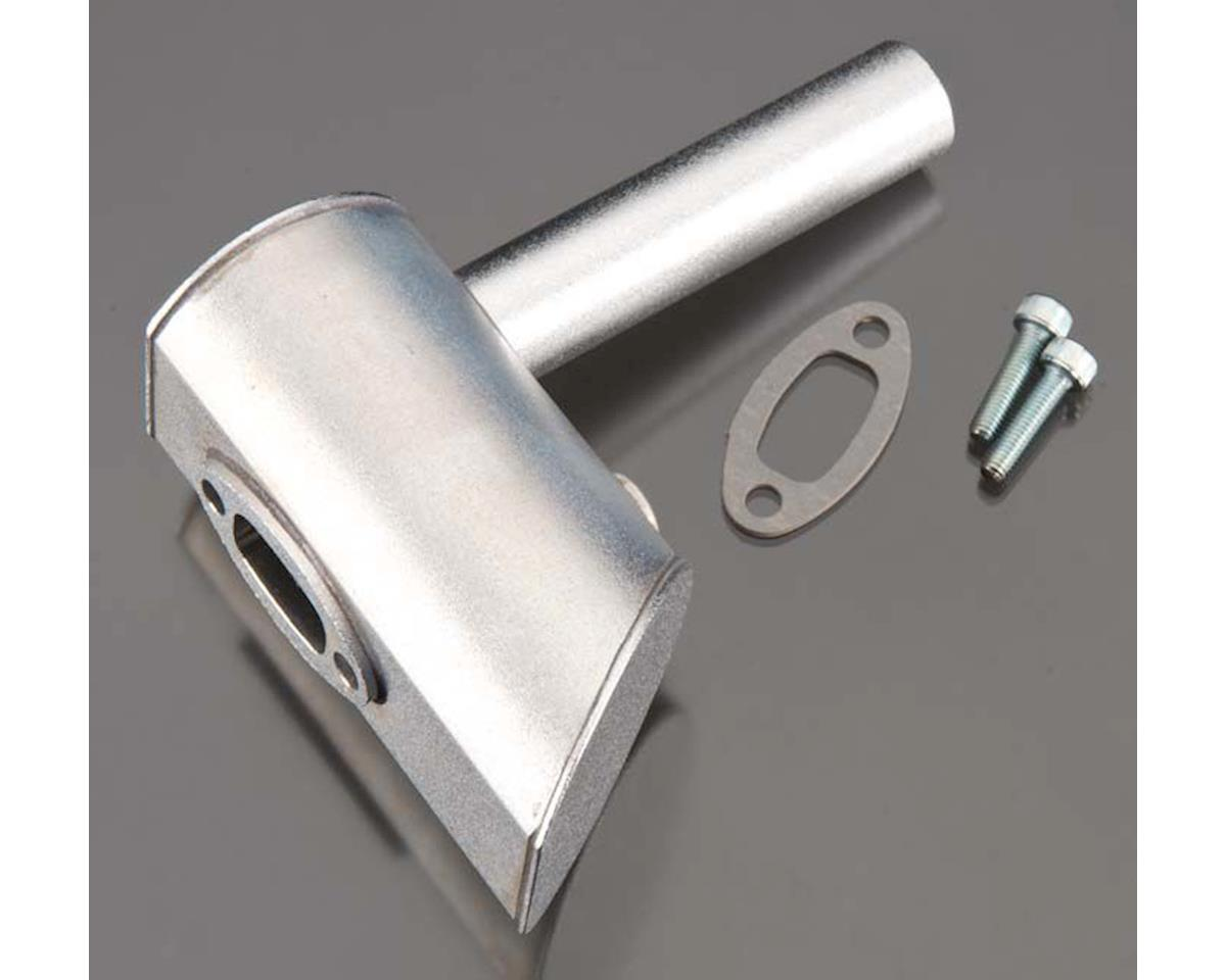 DLE Engines 60-W31 Muffler Left 1-Hole DLE60
