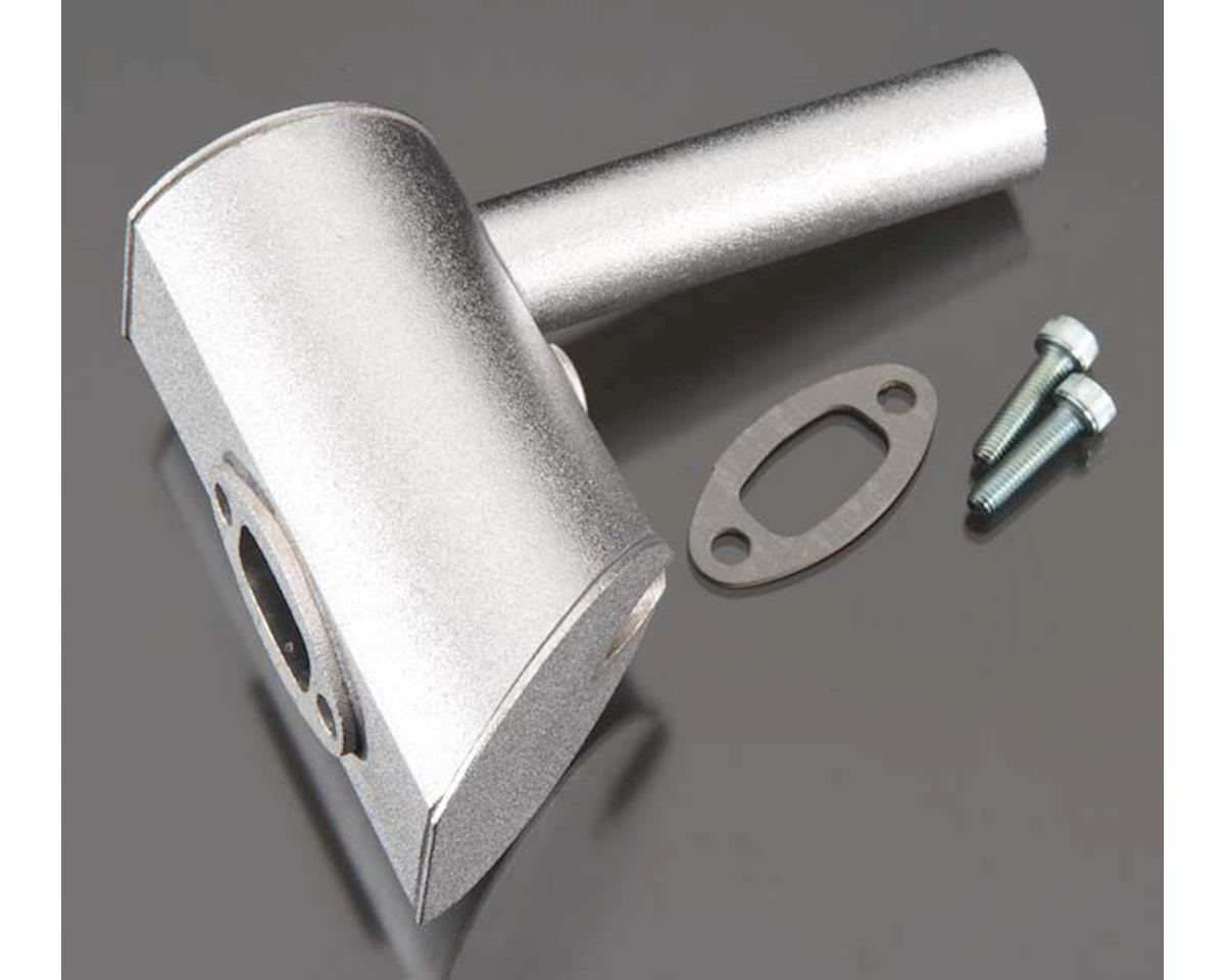 DLE Engines 60-W32 Muffler Right 2-Hole DLE60