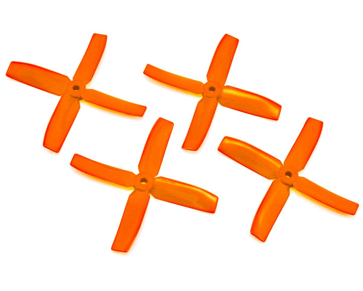 Dal Props Quad Blade 4x4x4 Prop (Orange) (2CW & 2CCW)