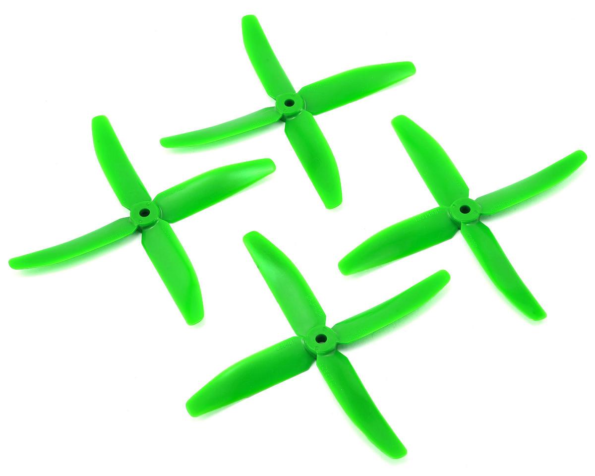 Quad Blade 5x4x4 Prop (Green) (2CW & 2CCW)