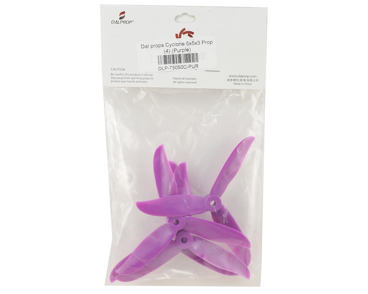 Dal Props Cyclone 5x5x3 Prop (4) (Purple)