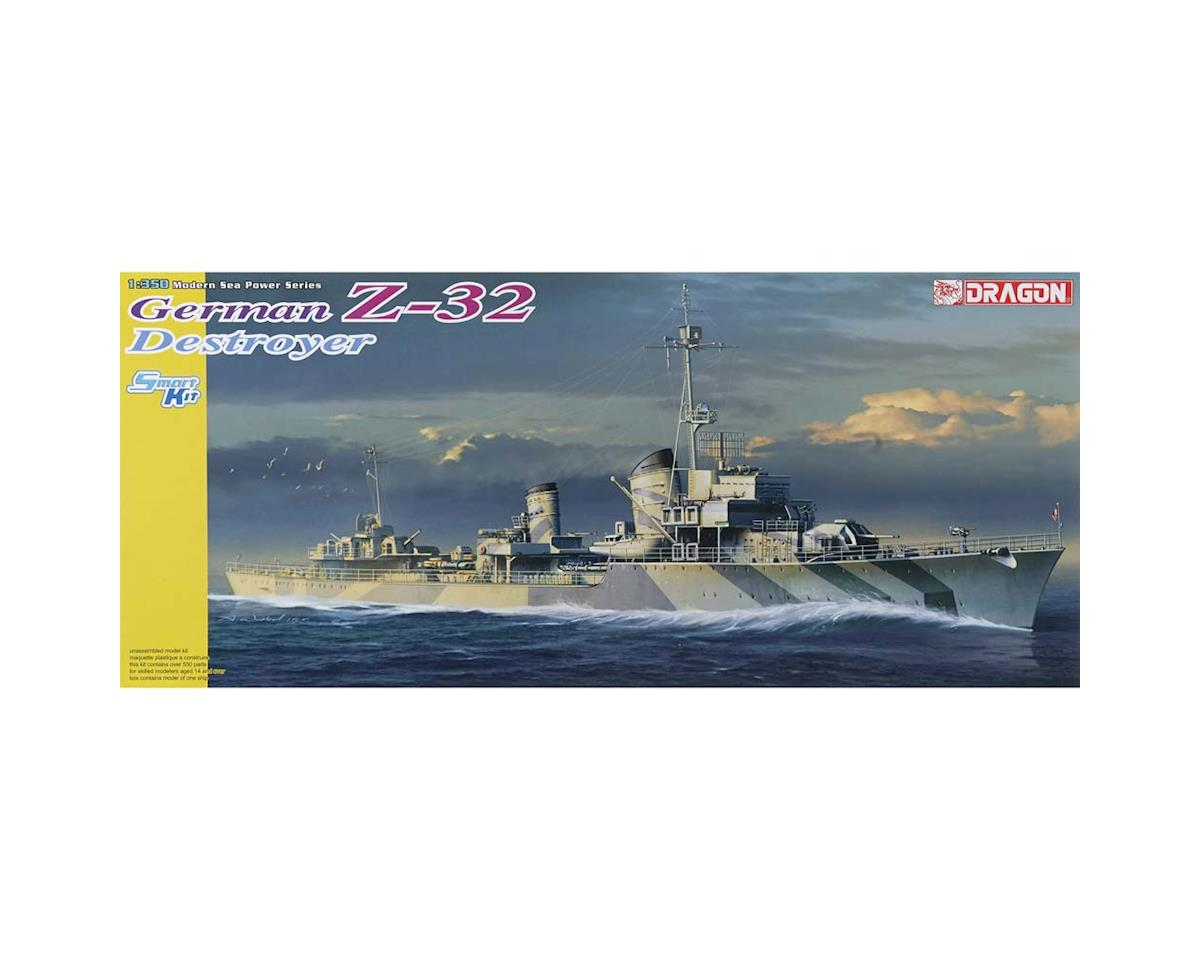 1065 1/350 German Z-32 Destroyer Smart Kit