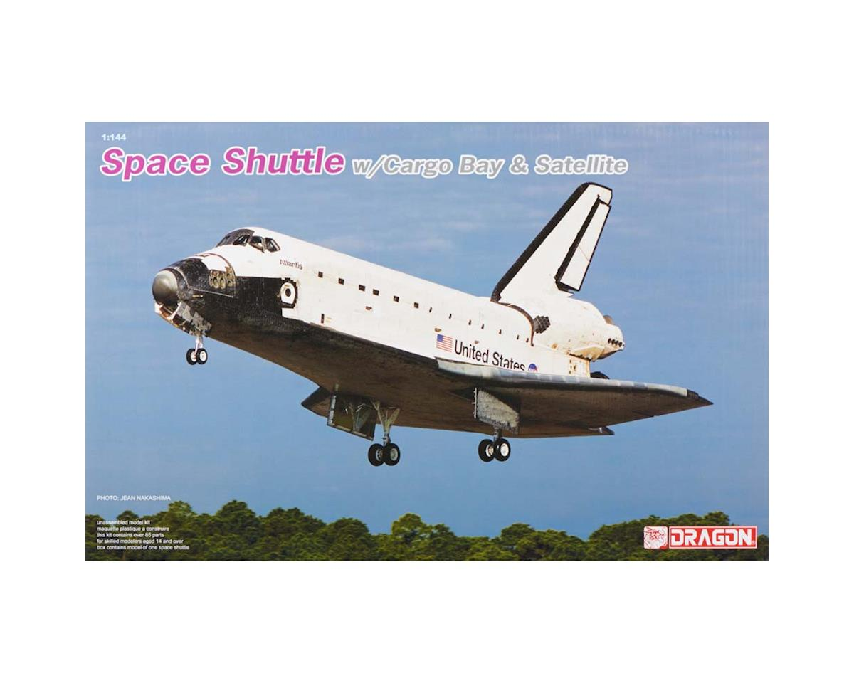 Dragon Models 11004 1/144 Space Shuttle w/Cargo Bay/Satellite