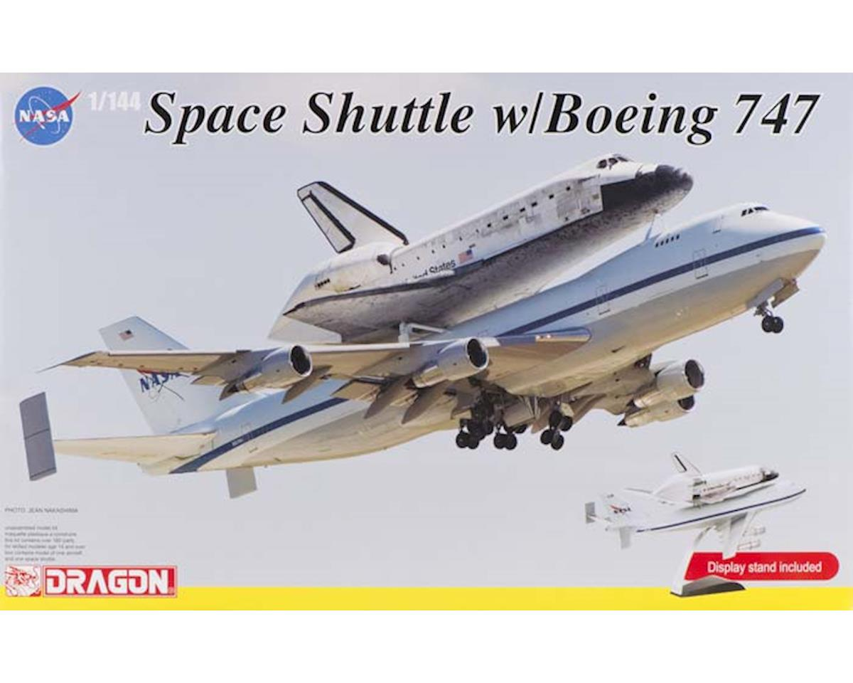 Dragon Models 14705 1/144 NASA Space Shuttle Discovery w/747-100 SCA