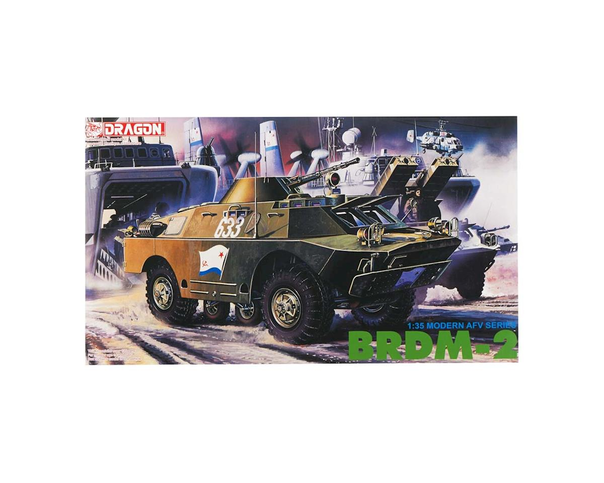 Dragon Models 1/35 Soviet BRDM2 4x4 Scout Vehicle