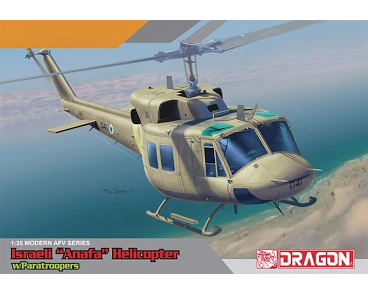 Dragon Models 3543 1/35 IAF UH-1N Helicopter w/IDF Paratroopers