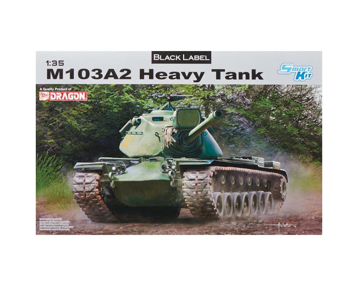 Dragon Models 3549 1/35 M103A2 Heavy Tank Black Label Series