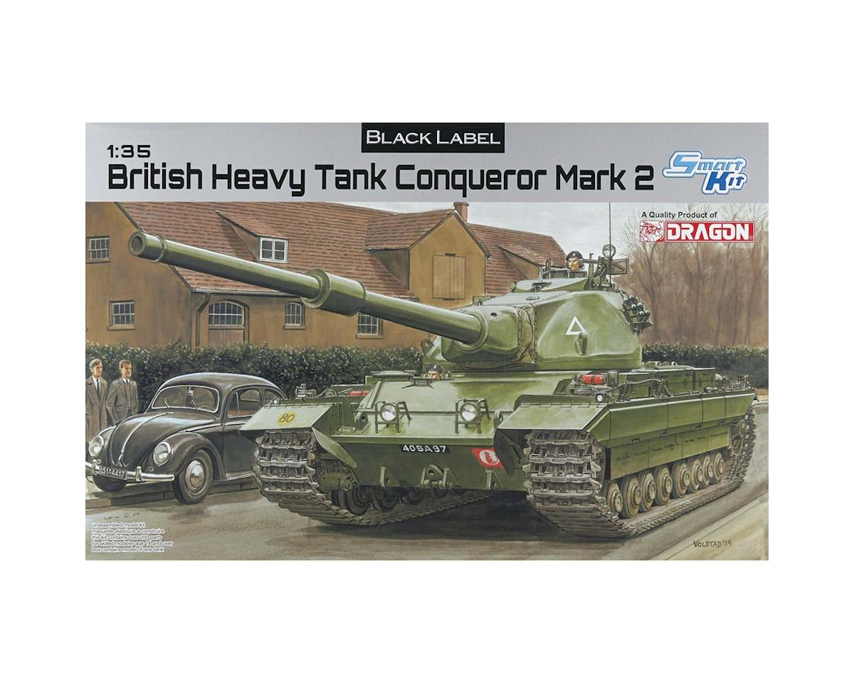 Dragon Models 3555 1/35 British Heavy Tank Conqueror Black Label